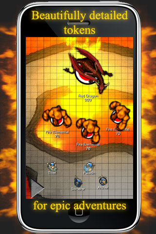 Screenshot RPGplane -Set Your Maps on Fire-