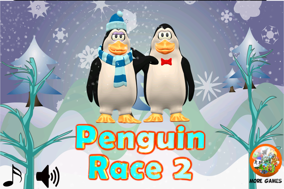 Screenshot Penguin Race 2